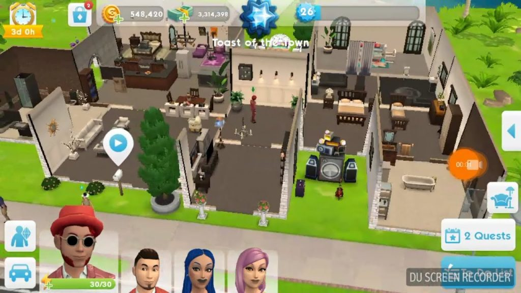 the sims mobile hack proof