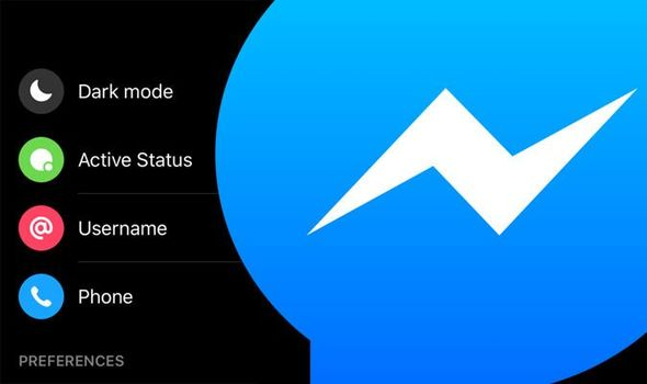 How to activate dark mode in Facebook Messenger android and ios