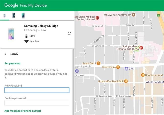 google find my device web