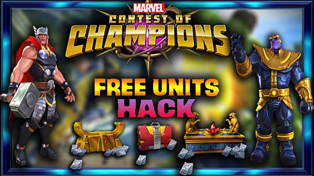Marvel Contest Of Champions Hack Cheats - Unlimited Units and Gold